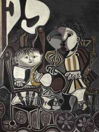 Pablo Picasso-Claude et Paloma-1950