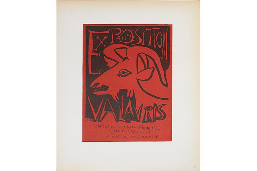 Pablo Picasso - Exposition Vallauris