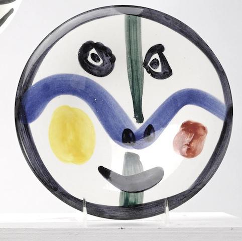 Pablo Picasso-Face no. 0 (A. R. 458)-1963