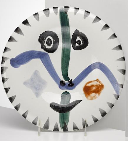 Pablo Picasso-Face no. III-1963