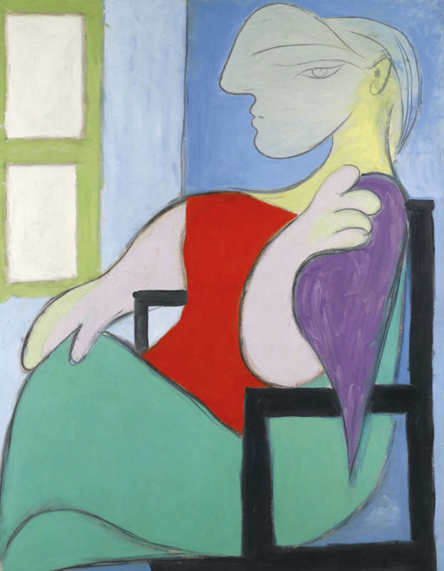 Pablo Picasso-Femme assise près d'une fenêtre-1932