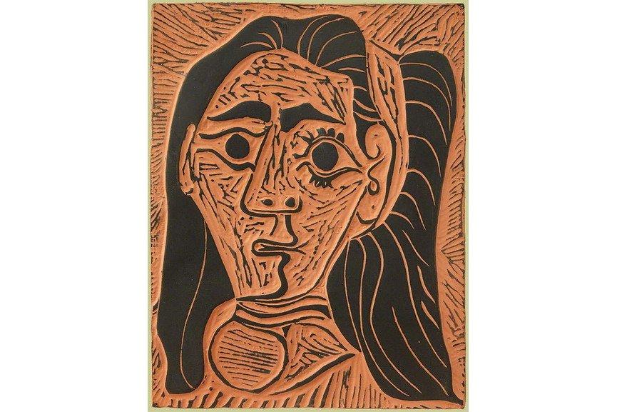 Pablo Picasso - Femme au Cheveux Flous (Fluffy-haried Woman)