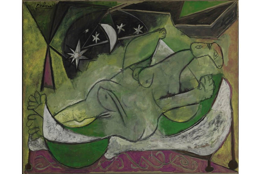 Pablo Picasso - Femme nue couchee