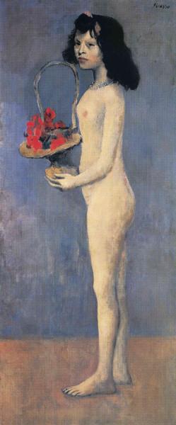 Fillette à la corbeille fleurie, 1905