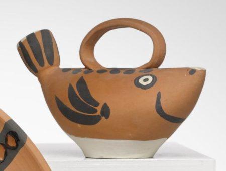 Pablo Picasso-Fish subject-1952