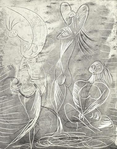 Pablo Picasso-Georges Hugnet: La Chevre-Feuille vol-1943