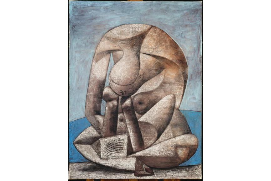 Pablo Picasso - Grande baigneuse au livre