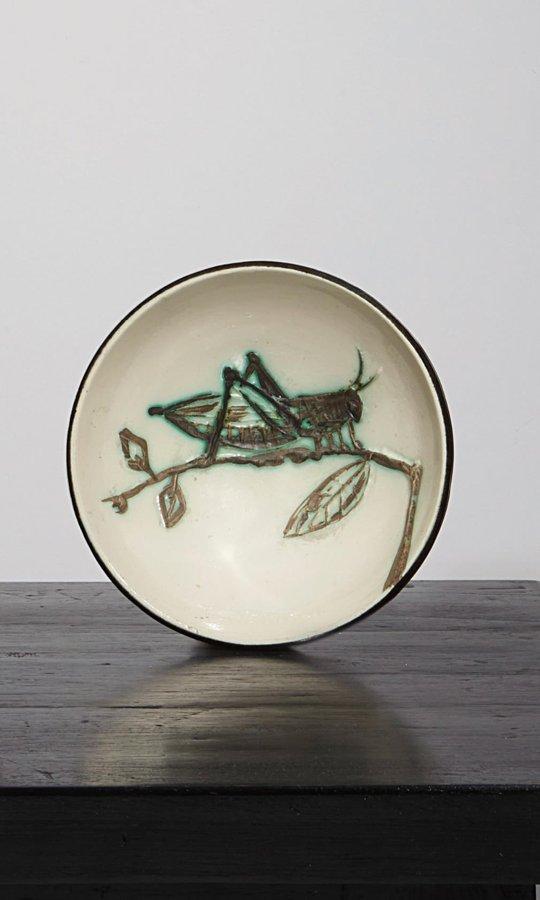 Pablo Picasso-Grasshopper sur une branche (Grasshopper on a Branch)-1955