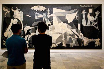 Pablo Picasso -Guernica, 1937 - Image via hyperallergic.com