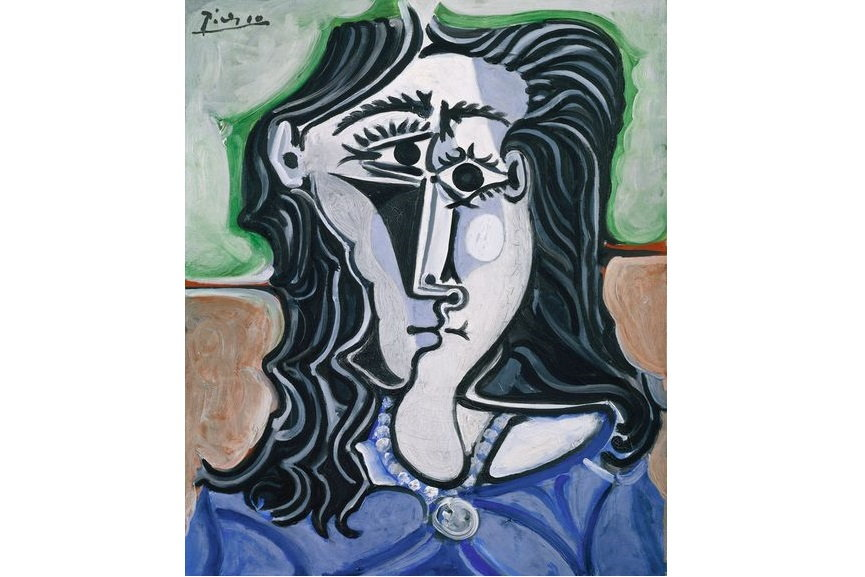 Pablo Picasso - Head of a Woman, via metmuseumofart com