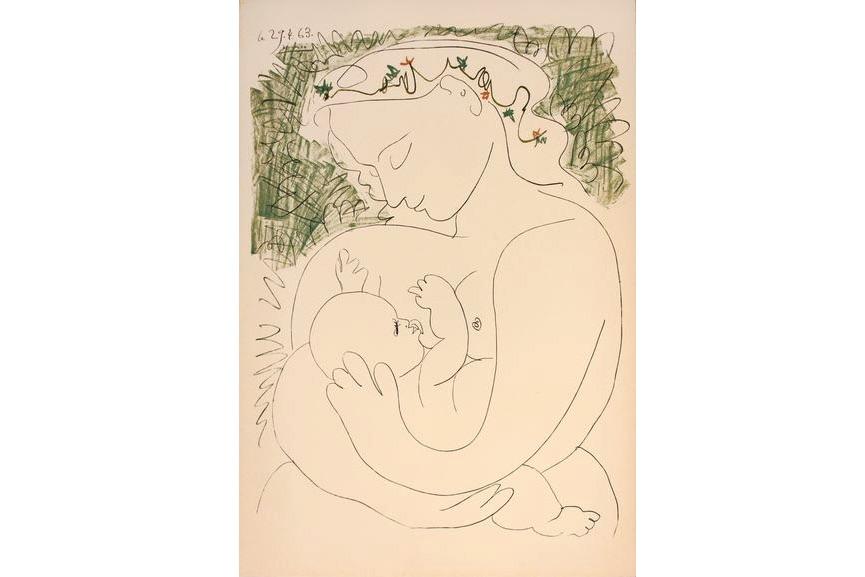 Pablo Picasso - La Grande Maternite