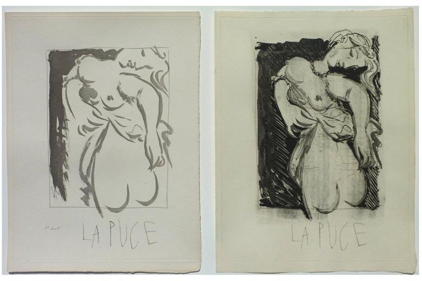 Pablo Picasso - La Puce I & II, 1936