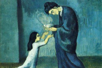 Pablo Picasso - La Soupe (The Soup), 1902-1903
