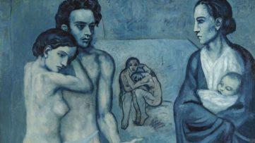 Pablo Picasso - La Vie (detail), 1903
