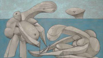 Pablo Picasso - La baignade