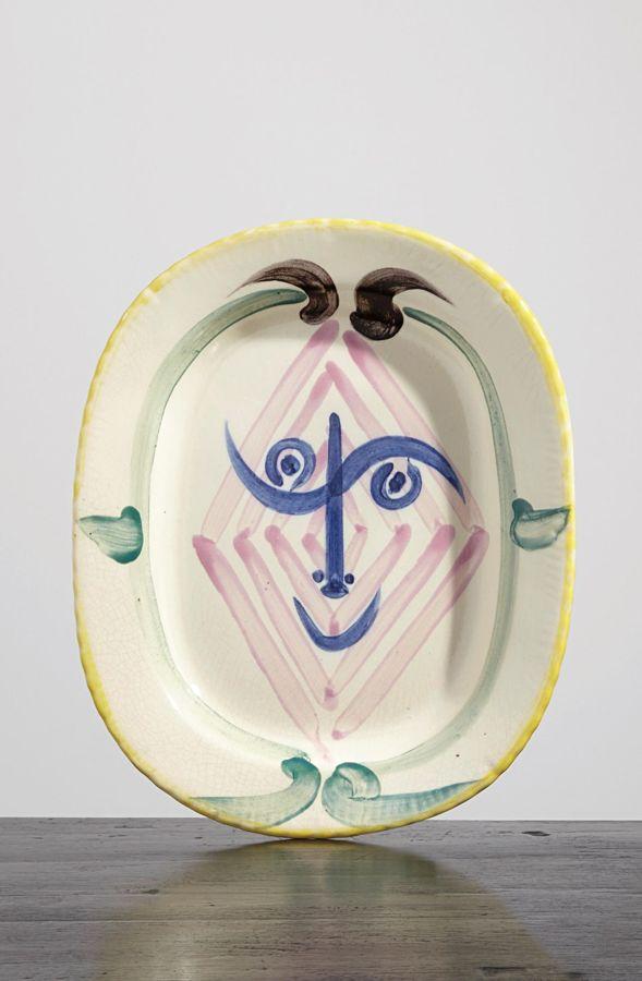 Pablo Picasso-La tete de Faun (Faun's Head)-1948