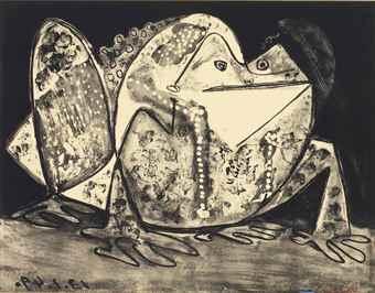 Pablo Picasso-Le Crapaud-1949