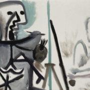 Pablo Picasso - Le Peintre Et Son Modele, 1963 (Detail)