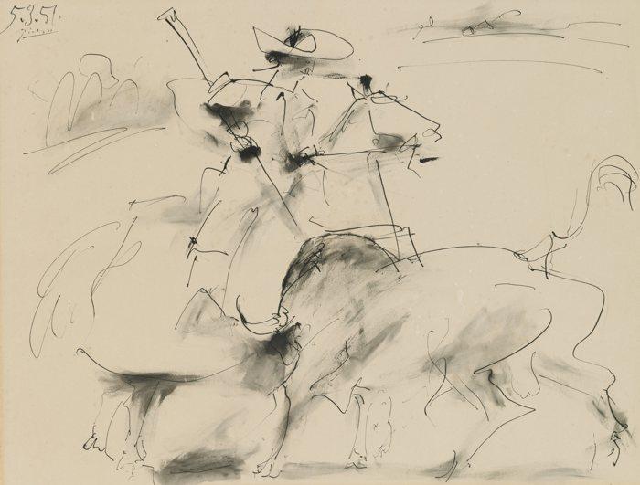 Pablo Picasso-Le Picador-1951