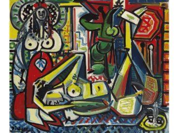 Pablo Picasso - Les Femmes D'alger Version 'F', 1955