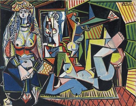 Pablo Picasso-Les Femmes d'Alger (Version 'O')-1955