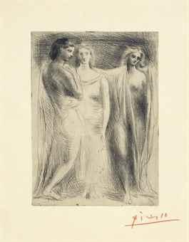 Pablo Picasso-Les trois Femmes-1925