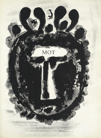 Pablo Picasso-MOT, from Corps Perdu-1950