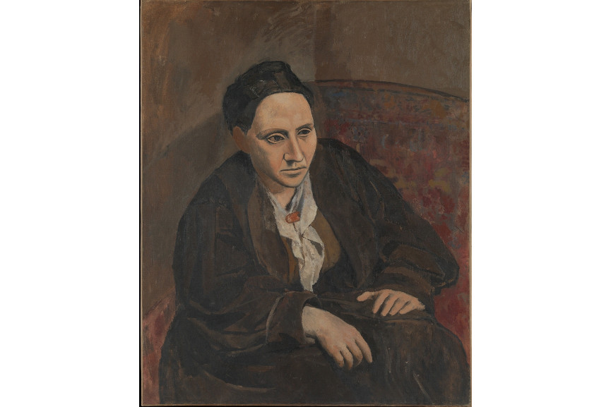 Pablo Picasso - Portrait of Gertrude Stein, 1906 - Quotes that really everybody can like are a thing of an inspirational sense - in order for a good quote to come, you need to know what to write and what to view