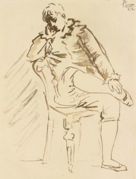Pablo Picasso-Saltimbanque-1922