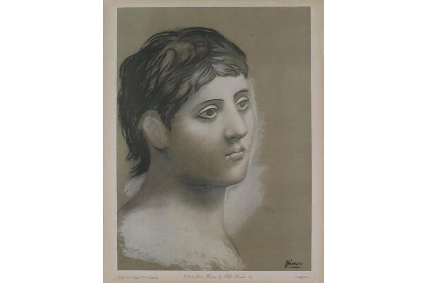 Pablo Picasso - Tete de Jeune Homme, 1948
