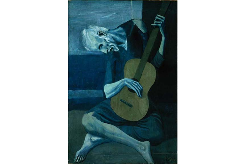Pablo Picasso's blue period years