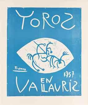 Pablo Picasso-Toros 1.957 Vallauris-1957