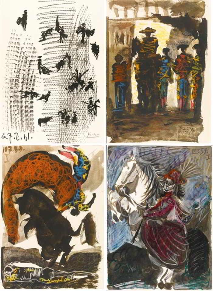 Pablo Picasso-Toros Y Toreros-1961