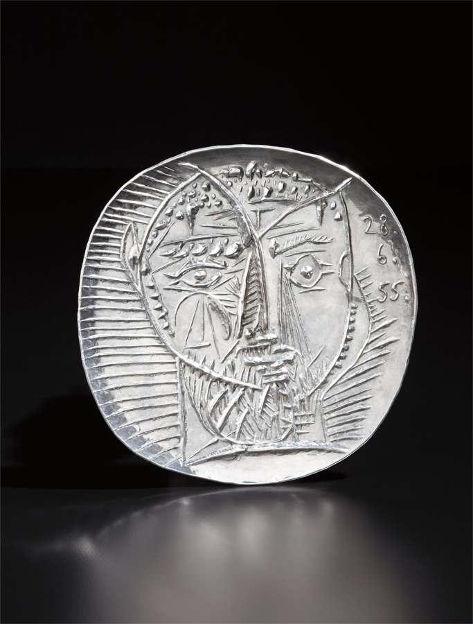 Pablo Picasso-Visage de faune (Faun's Face)-1956