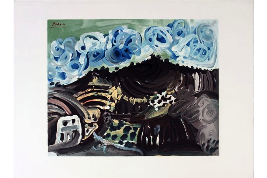 Pablo Picasso - Vue Depuis L'Atelier De L'Artiste