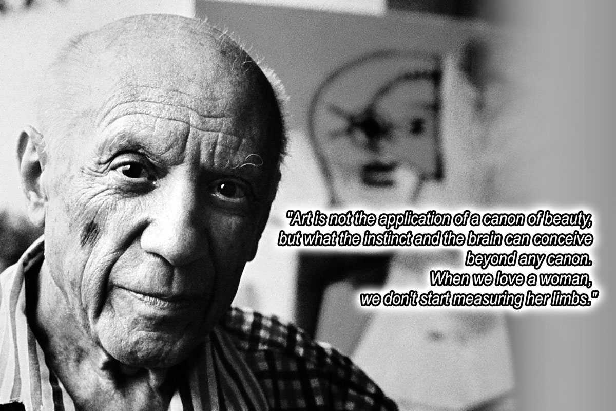 Most Famous Sayings Most Memorable Of Picasso Quotes  The Ultimate List  Widewalls