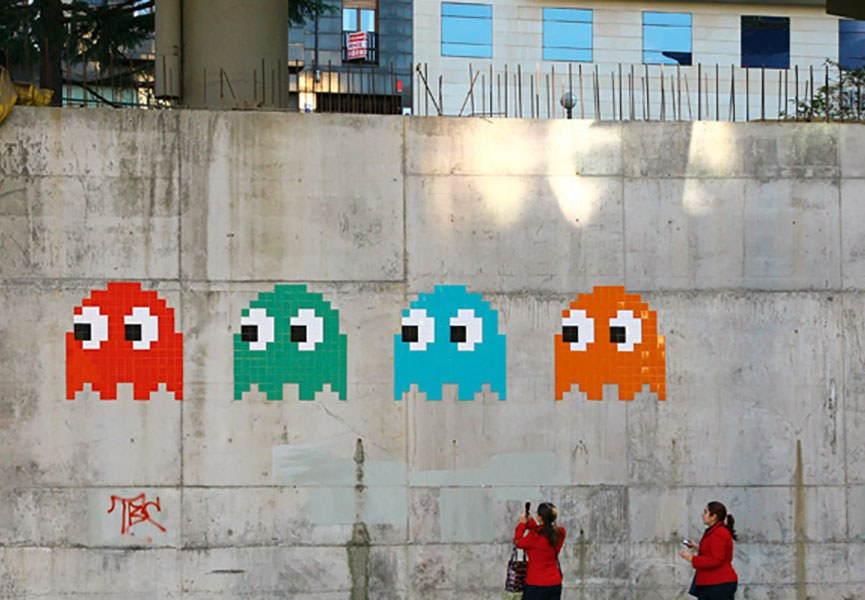 street art video game