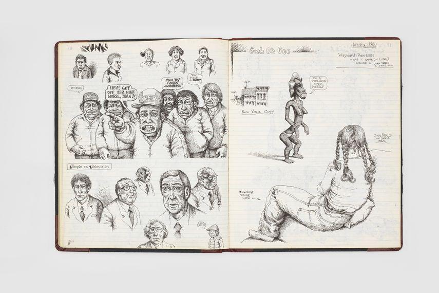 Page from Robert Crumb, Sketchbook, 1979-1981