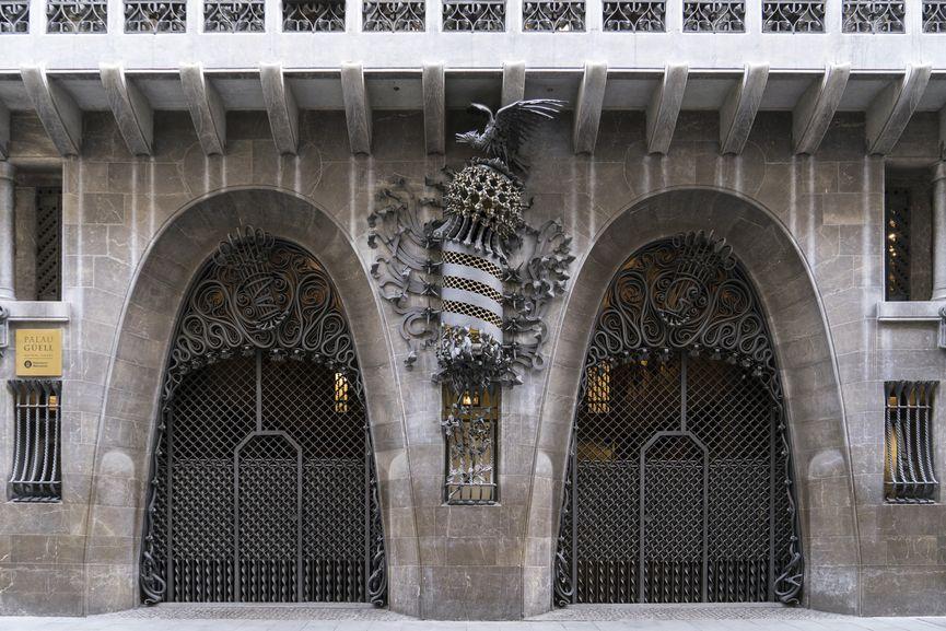 Güell Palace by Antoni Gaudí