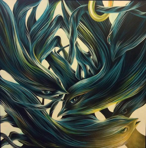 Pantonio - Canarios, 2014 (130 x 130 cm)