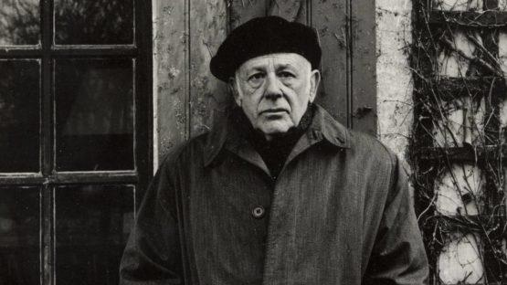 Paolo Gasparini - Paul Strand, Orgeval, France, 1957 - Image via moma
