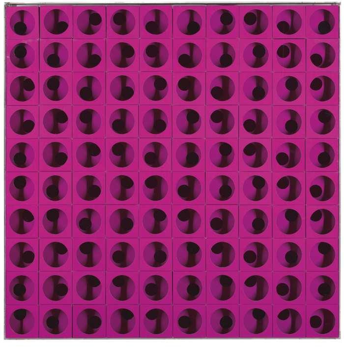 Paolo Scheggi-Struttura Modulare (Interlinea Curvo)-1969