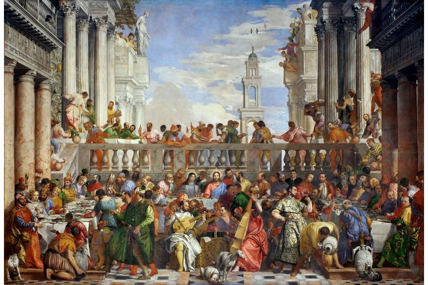 Mannerism - Paolo Veronese - Wedding Feast at Cana