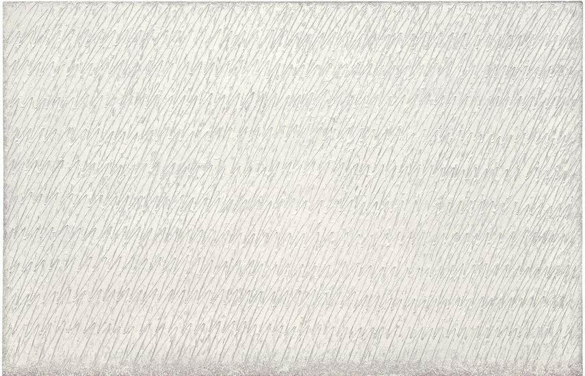 canvas monochrome paintings 2014 museum seoul work Dansaekhwa, korean art