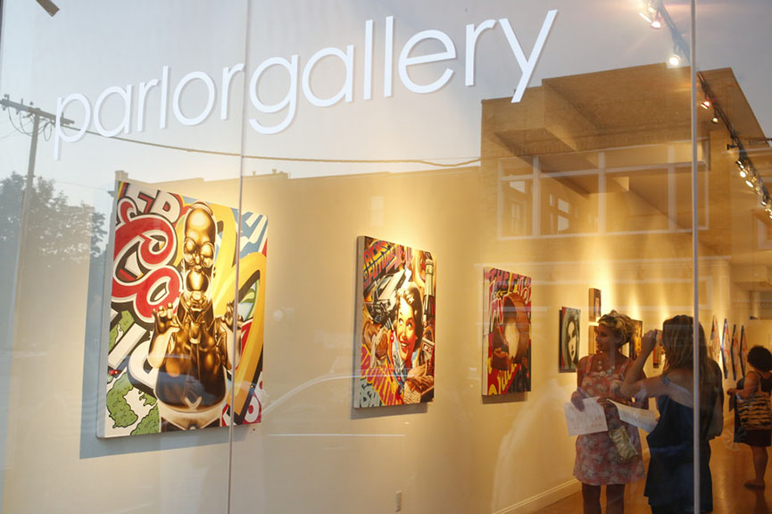 Parlor Gallery exhibition asbury park contact past media upcoming artist current home cookman 717