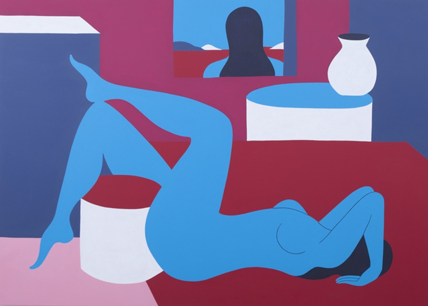 Parra - Love gained, 2016 - open time in dutch is like the 2012 case in gallery based with a mural