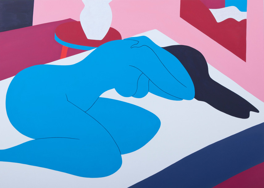 Parra - Love lost, 2016 - open time in dutch is like the 2012 case in gallery based with a mural