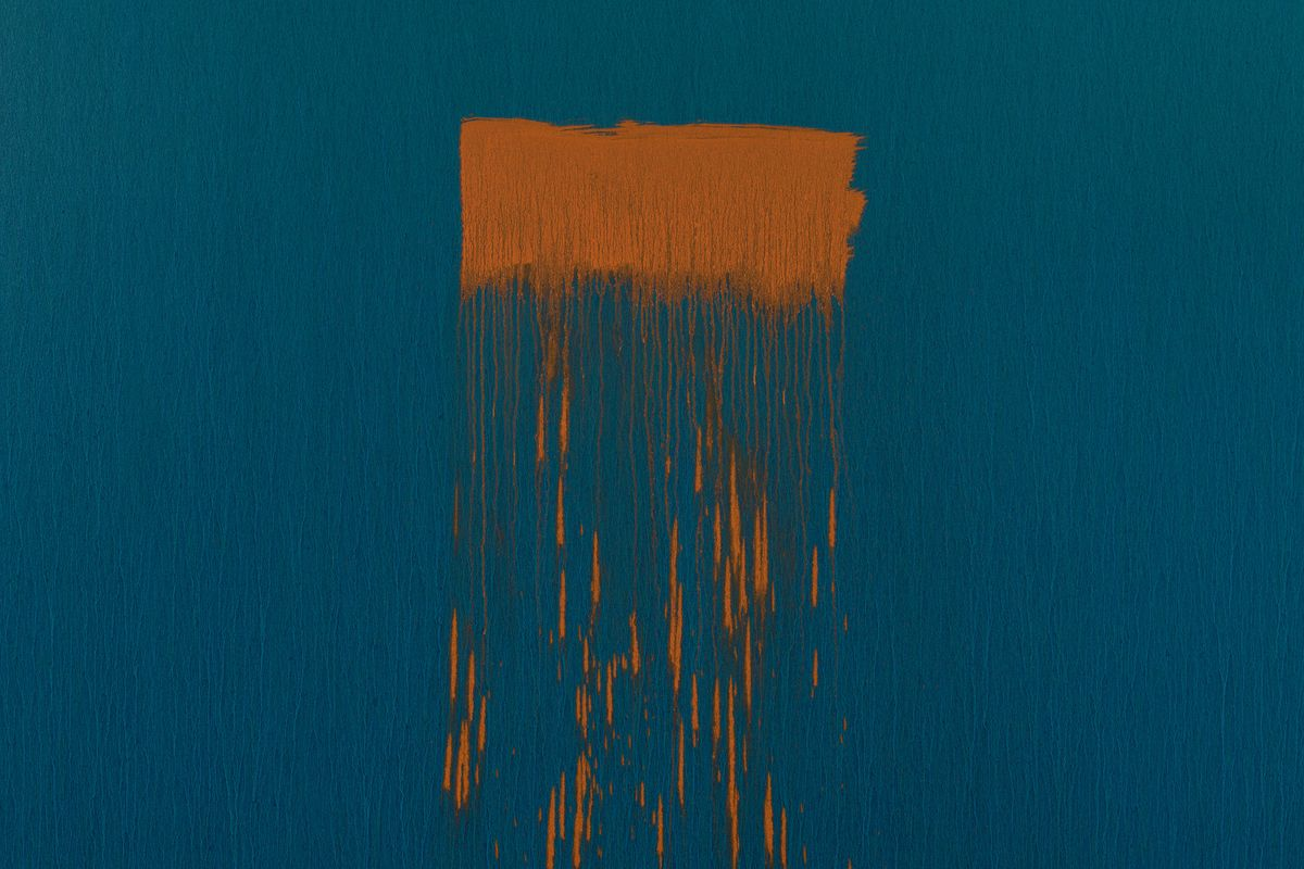 Pat Steir - Twenty (detail), 2018–19