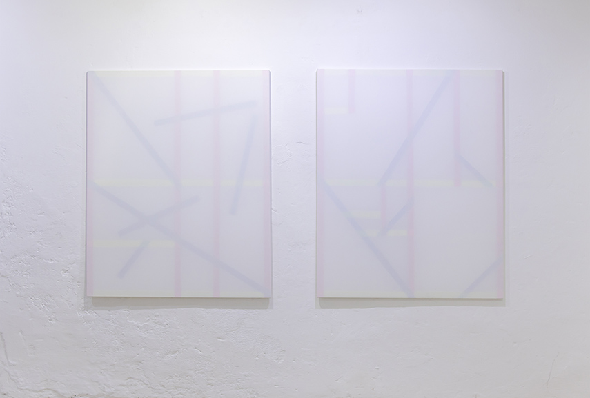 patric sandri exhibition zurich 2015 canvas contact works 2014 switzerland tabak