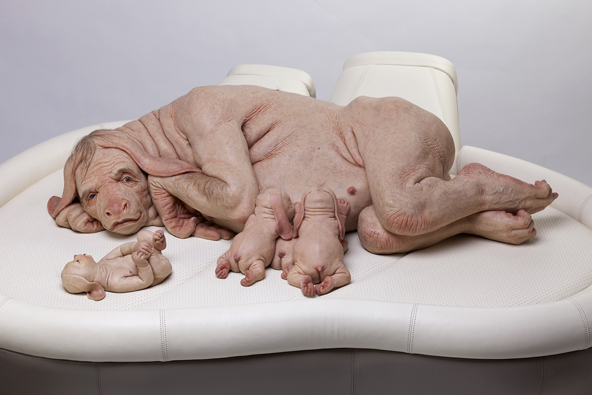 Patricia Piccinini, The Young Family, 2002
